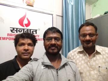 With Amit Choubey (Sanmat Founder)